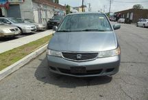 Used 2001 Honda Odyssey for Sale ($3,900) at Paterson, NJ / Make:  Honda, Model:  Odyssey, Year:  2001, Body Style:  Tractor, Exterior Color: Gray, Interior Color: Silver, Vehicle Condition: Excellent,  Mileage:121,000 mi, Engine: 6Cylinder, Transmission: 4 Speed Automatic, Fuel: Gasoline Hybrid.   Contact:973-925-5626   Car Id (56655)