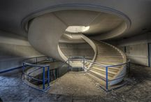 Abandoned stairs around the world / Pictures from various sources of abandoned staircases throughout the world.
