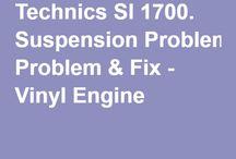 Technics sl- 1**0 mk I/II DIY og fixes