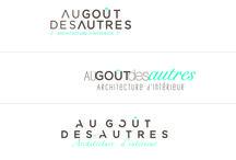 """Réalisation logo """"Au Goût des Autres"""" / Réalisation logo """"Au Goût des Autres"""" par l'agence Cassiopée"""