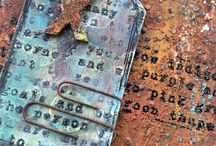 2017:16 Rustification / Over on the PaperArtsy Blog we are exploring all things Rust. In craft circles during the last 2 years, rusty exploration has been a massive theme, and its so easy to achieve a faux patina with paint and texture effects, or even rusting powder!   PaperArtsy Blog links: 29th Oct - 12th Nov, 2017