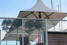 Parasols / We supply parasols from established manufacturers offering a wide range of styles.