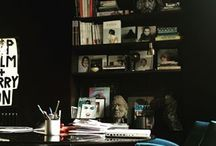 A place to work / Inspiration for a work space.