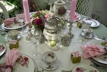 Mother's day table scape