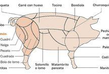 CORTES DE CARNE DE CERDO / Aprende los mejores cortes de carne de cerdo para que cuando compres en tu carnicería no te vendan gato por liebre y sepas lo que comes.