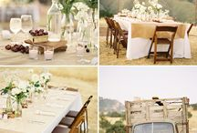 NorCal Wedding Ideas / by Shelley Morgan