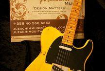 "J.L.G. Custom Series ""T"" / J. Leachim Guitars Custom Series ""T"" models built for customers"