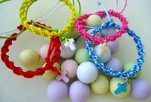 handmade bracelet for your baby baptism / we vcan make whatwhever you want!!!