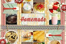 Sweet On: Food / Scrapbooking Layouts, products and other inspiration for food!