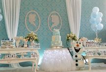 decoracao frozen