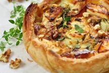 ♡ Quiches (food)