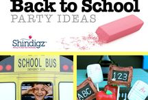 Party Ideas - Back To School / Going back to school should be an exciting time for everyone! At Shindigz, we want to make going back to school a little more fun with classroom decorations and homeroom party ideas that are sure to delight everyone at the party.Plan the ultimate classroom decoration for every holiday theme or educational objective. At Shindigz, learning just got a whole lot more fun!