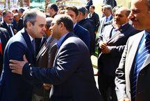Ak Parti Milletvekili Adayları ile Canik İlçe Başkanlığı Ziyareti