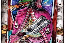 Tarot Circle - 2 The High Priestess / Tarot card The High Priestess Card no 2