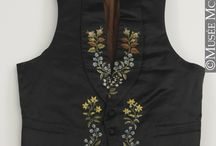 Men's waistcoats from the 19th century / Men's clothing from the 19th century, especially from the 1840's and 1850's.