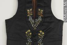 Men's waistcoats from the 19th century / Men's clothing from the 19th century, especially from the 1840's and 1850's.