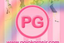 Pojok Grosir / Pojok Grosir adalah situs online yang menjual baju rajut korea dengan harga bersaing dan berkualitas