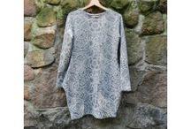 Moda damska / Moje projekty dla Pań, sukienki, bluzy, tuniki, koszulki