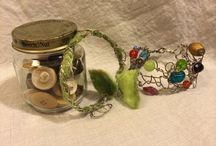 Felt and Wire - Wrapped Jewelry