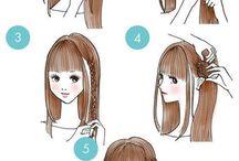 Braids step by step