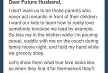 Dear future husband / PS : I Love you