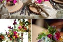Table decorations / by Liselle Chisenhale-Marsh (Gaynes Park)