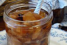 Zimný jablkový pečený čaj