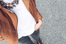 С чем носить коричневую кожаную куртку.