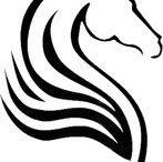 cavallo disegni stilizzati