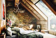 Dormitor -mansarda
