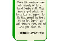 Greenwood Hardware Reviews / You love us...you really, really love us!
