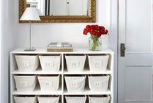Storage Ideas / by A Pop of Pretty Blog