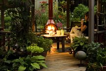 Outdoor rooms / Garden love