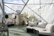 Clearspan Frame Marquees / A collection of Clearspan frame marquees
