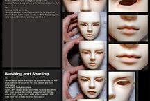 BJD make up