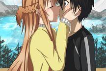 anime and kiss