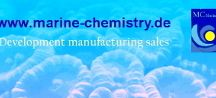 Spurenelemente i. Meerwasser-aqua / Spurenelemente i. Meerwasser-aqua v. Marine Chemistry, products: Eisen, Mangan, Jod, Vanadium, Nickel, Kobalt, Kupfer, Zink, Molybdän, Selen.