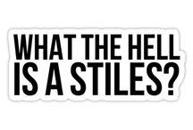 """•stiles stilinski• / """"sarcasm is my only defense"""""""
