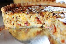 food:  pie and quiche / hartige taart