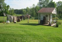 Garden Sheds~Outhouses / by Earlene