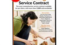 Pet-Sitter  and Dog-Walker Products / Products for pet sitters and dog walkers, including pet products and pet business tools.