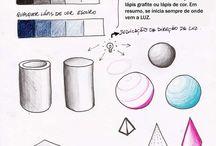Sombreado/ formas geométricas