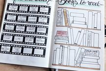 I N S P I R A T I O N / Designes and inspiration for diaries, planners, bullet journals