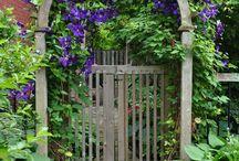 Puertas de jardines