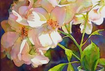 Jeannie Vodden WATERCOLOURS