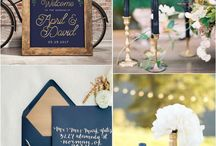 Navy Gold Engagement
