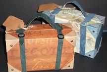 Cartonnage & Papercrafts / Tutorials & Examples of Cartonnage and Papercrafts