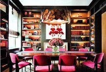 Dining rooms with library
