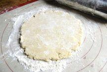 Pie crust, crackers dough, pot pies