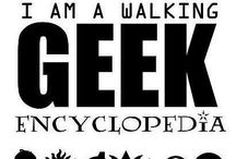 Geek Board / Board full of fandoms, mashups of books and films and geeky humor.
